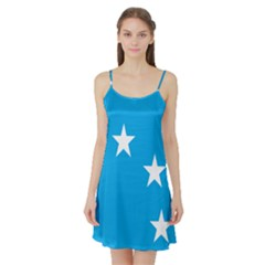 Starry Plough Flag Satin Night Slip