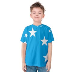 Starry Plough Flag Kids  Cotton Tee