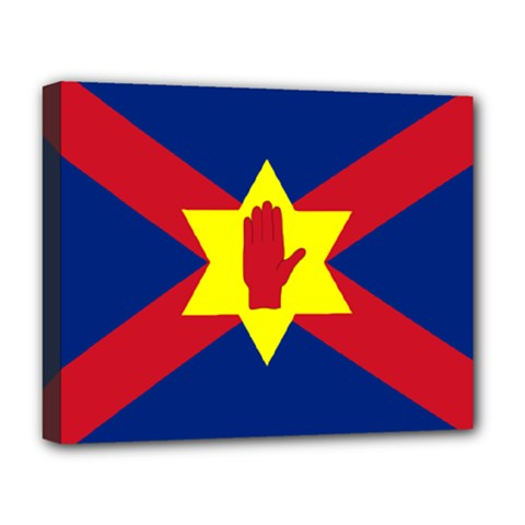 Flag Of The Ulster Nation Deluxe Canvas 20  X 16