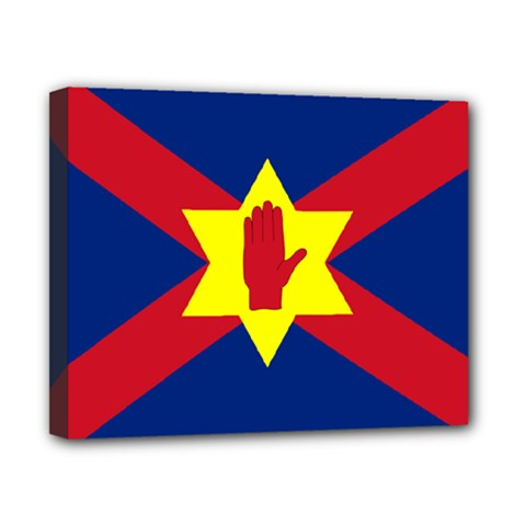 Flag of the Ulster Nation Canvas 10  x 8