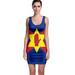 Flag of the Ulster Nation Sleeveless Bodycon Dress