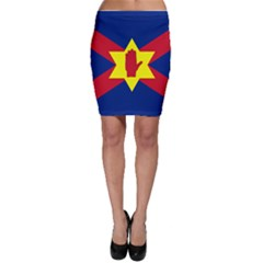 Flag of the Ulster Nation Bodycon Skirt