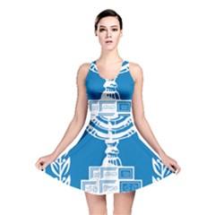 Emblem of Israel Reversible Skater Dress
