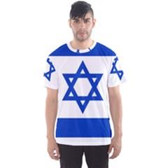 Flag of Israel Men s Sport Mesh Tee