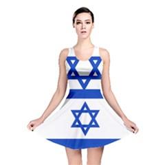 Flag of Israel Reversible Skater Dress