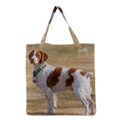 Brittany Spaniel Full Grocery Tote Bag