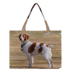 Brittany Spaniel Full Medium Tote Bag
