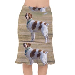 Brittany Spaniel Full Mermaid Skirt