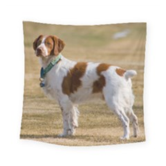 Brittany Spaniel Full Square Tapestry (Small)