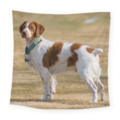 Brittany Spaniel Full Square Tapestry (Large)