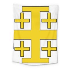 Jerusalem Cross Medium Tapestry