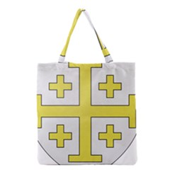 The Arms Of The Kingdom Of Jerusalem  Grocery Tote Bag