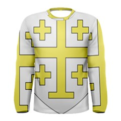 The Arms of the Kingdom of Jerusalem  Men s Long Sleeve Tee