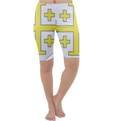 The Arms of the Kingdom of Jerusalem  Cropped Leggings