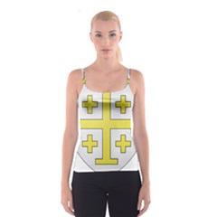The Arms of the Kingdom of Jerusalem Spaghetti Strap Top
