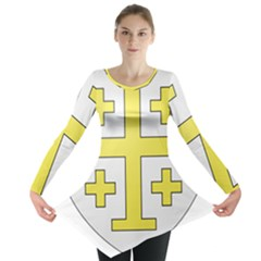 The Arms of the Kingdom of Jerusalem Long Sleeve Tunic