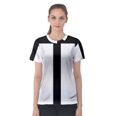 Anchored Cross  Women s Sport Mesh Tee