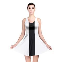 Anchored Cross Reversible Skater Dress
