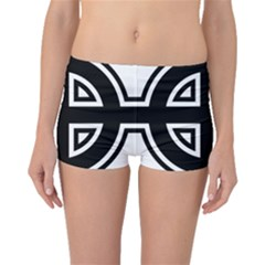 Celtic Cross Boyleg Bikini Bottoms