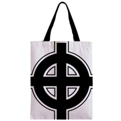 Celtic Cross Zipper Classic Tote Bag