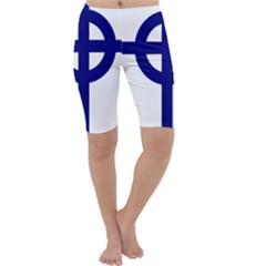 Celtic Cross  Cropped Leggings