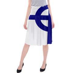 Celtic Cross  Midi Beach Skirt