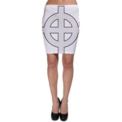 Celtic Cross  Bodycon Skirt