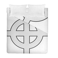 Celtic Cross  Duvet Cover Double Side (Full/ Double Size)