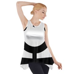 Croix Copte ¨|gyptiennel Side Drop Tank Tunic