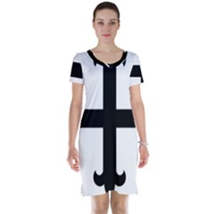 Cross Fleury  Short Sleeve Nightdress