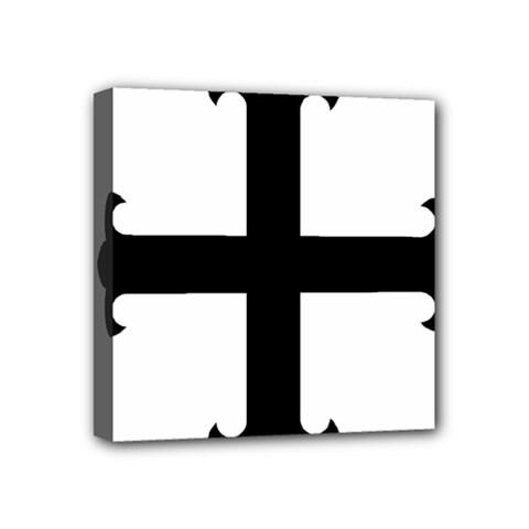Cross Fleury Mini Canvas 4  x 4
