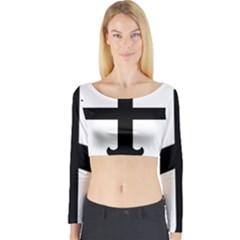Cross Fleury Long Sleeve Crop Top