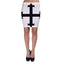 Cross Fleury Bodycon Skirt