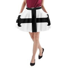 Cross Fleury A-Line Pocket Skirt