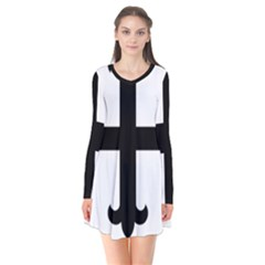 Cross Fleury Flare Dress