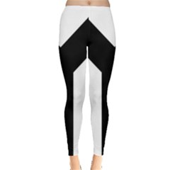 Forked Cross Leggings