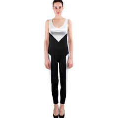 Forked Cross OnePiece Catsuit