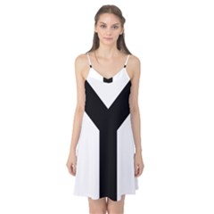 Forked Cross Camis Nightgown
