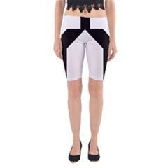 Forked Cross Yoga Cropped Leggings