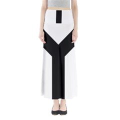 Forked Cross Maxi Skirts
