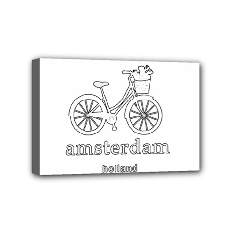 Amsterdam Mini Canvas 6  x 4