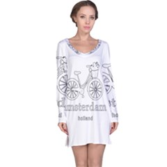 Amsterdam Long Sleeve Nightdress