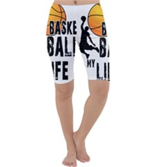 Basketball is my life Cropped Leggings