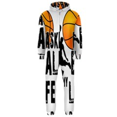 Basketball is my life Hooded Jumpsuit (Men)