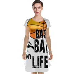 Basketball is my life Cap Sleeve Nightdress