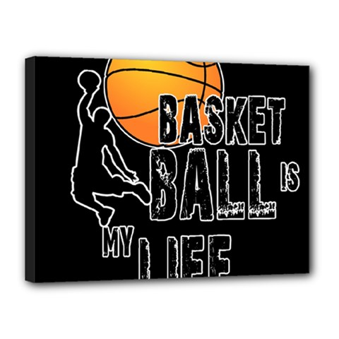 Basketball is my life Canvas 16  x 12