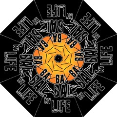 Basketball is my life Hook Handle Umbrellas (Large)