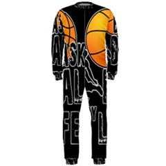 Basketball is my life OnePiece Jumpsuit (Men)