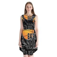 Basketball is my life Sleeveless Chiffon Dress