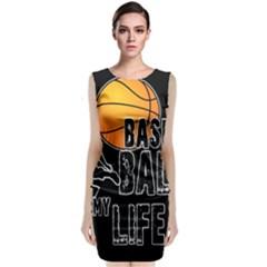 Basketball is my life Sleeveless Velvet Midi Dress